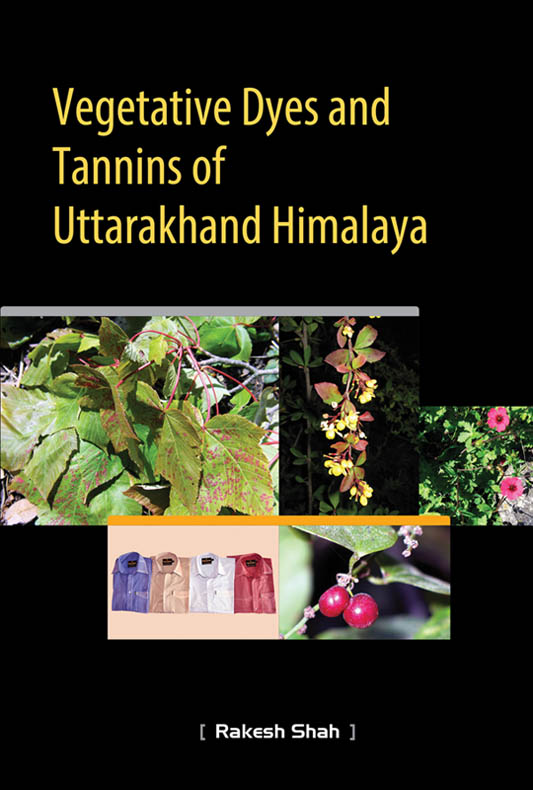 Dyes and Tannins Book Cover Booklet
